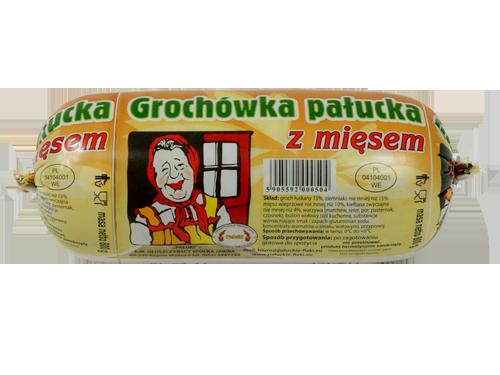 Grochówka pałucka z mięsem