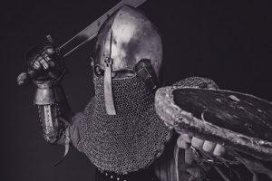 Rycerz z bitwy pod Grunwaldem